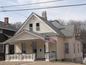 Ohio Knox lived in this home at 156 Park Ave. with his wife, Melvina. Before settling in Council Bluffs, Knox served during the Civil War. He fought in Big Black River – the battle that fatally wounded Col. William Kinsman of Council Bluffs.